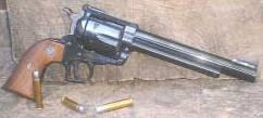 "Ruger 357 Maximum Super Blackhawk revolver: Photo from the article ""The 357 Max"" Click photo for article"